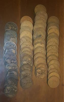 Monete Regno Unito One penny 1886-1965