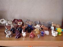 Elefanti - Circa trenta. Fatture diverse.