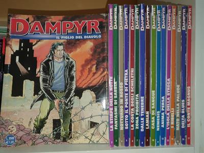 Fumetti da COLLEZIONE - Dampyr, Dylan Dog, Nick Raider
