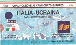 Biglietto ITALIA - UCRAINA calcio