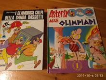 Clamorosi colpi della banda Bassotti e Asterix alle Olimpiad