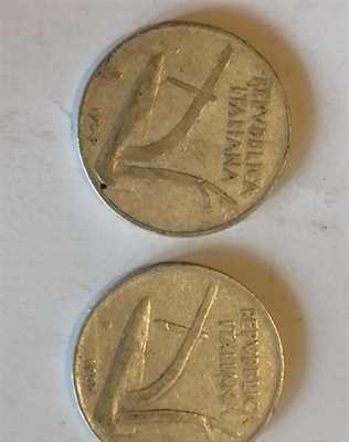10 lire anno 1953 e1955