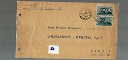 10 repubblica storia postale affrancatura lire 80
