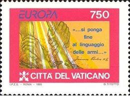 Francobolli nuovi annata 1995 Vaticano