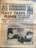 Daily Sketch, 11 Giugno 1940