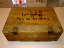 Cassetta Legno Stagna Portamunizioni Tedesca 1940