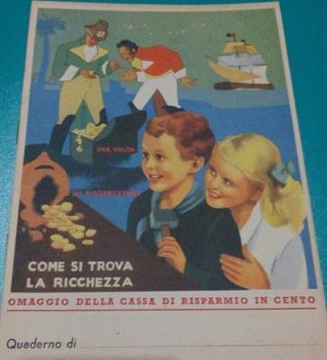 Quaderno scuola ventennio