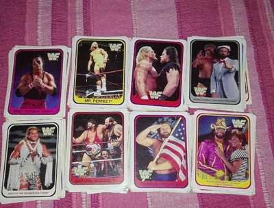 103 Card WWF Wrestling 1991