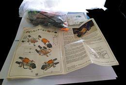 Sacchettino Meccano con foglio illustrativo istruzioni