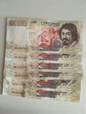 Banconote 100mila lire