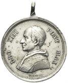 Medaglia Leone XIII 1878-1903.