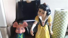 Biancaneve Ledra originale con Topo Gigio