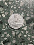 5 lire 1954 delfino