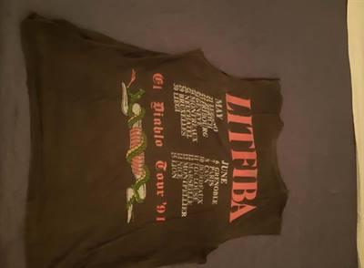 T.shirt da collezione. LITFIBA