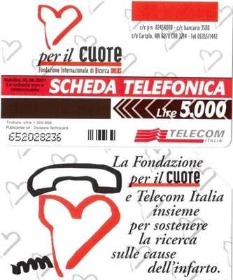 9 schede telefoniche usate da collezione