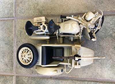 BMW Afrika Korps side car