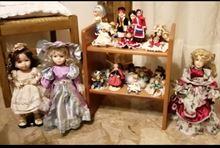 Bamboline di porcellana