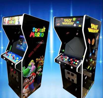 Cabinati arcade restaurati e personalizzati