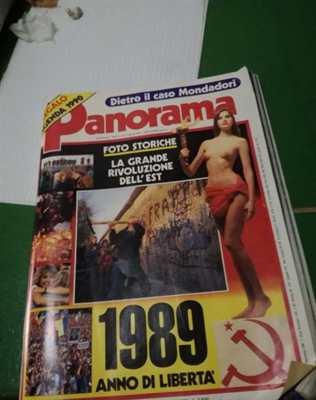 Riviste Panorama dal 1978 al 1989