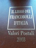 Libro francobolli nuovo del 2003