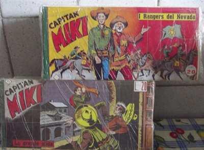 Fumetti di Capitan Miki
