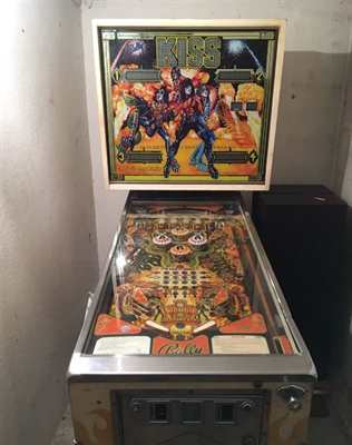 Flipper Bally 1978 KISS Germany (ss)