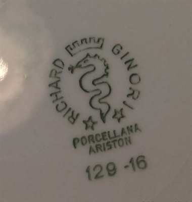 Servizio 27 pezzi porcellana Richard Ginori