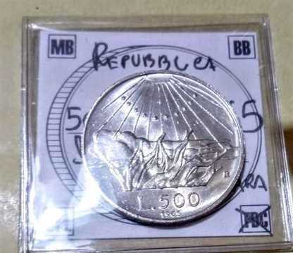 500 lire Caravelle FDC fiordiconio dal 1958-1970 fdc