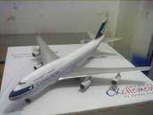 Aeromodello statico del Boeing 747a Bari