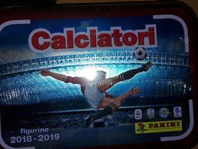 Calciatori Panini 2018 - 2019 Figurine Esclusive