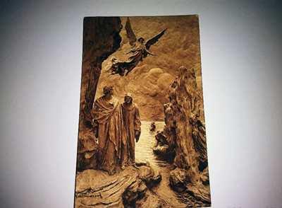 Antica cartolina Mastroianni Dante