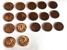 Collezione monete 10 centesimi ape