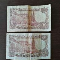 Spagna Banco de Espana Madrid 100 pesetas