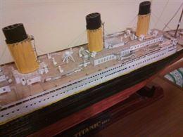 Titanic fatto dall'edicola