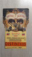 Biglietto Michael Jackson 4/7
