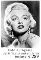 Foto Marilyn Monroe originale