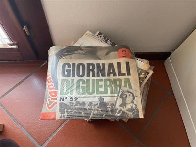 Collana rizzoli giornali di guerra