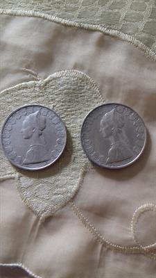 Monete 500 lire Cristoforo Colombo