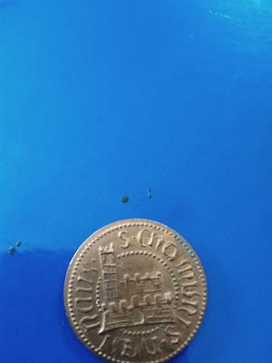 Moneta o medaglia Leonardo Da Vinci