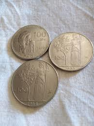 Monete 100 Lire 1956 1958