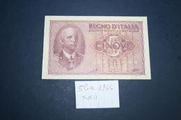 Banconota 5 lire