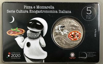 5 Euro Pizza e Mozzarella 2020