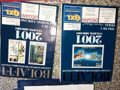 FRANCOBOLLI ITALIANI DAL 1950 IN POI