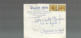11 repubblica storia postale lettera pubblicitaria lire 40